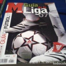Coleccionismo deportivo: GUIA MARCA (LIGA 07 -2006/2007) JUGADORES, EQUIPOS, COMPETICIONES, LIGAS DE EUROPA, EUROCOPA, . Lote 186274770