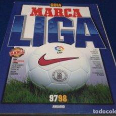 Coleccionismo deportivo: GUIA MARCA LIGA 97 98 1997 1998. ANUARIO LIGA NACIONAL DE FUTBOL PROFESIONAL. LFP REVISTA. Lote 186275087