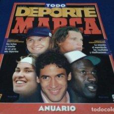 Coleccionismo deportivo: REVISTA ESPECIAL ANUARIO 97/98 DIARIO MARCA - EXTRA RESUMEN AÑO 1997 CALENDARIO 1998 TODO DEPORTE. Lote 186275171