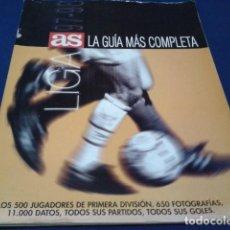 Coleccionismo deportivo: REVISTA AS LA GUIA MAS COMPLETA LIGA 97 - 98 LOS 500 JUGADORES DE PRIMERA DIVISION 650 FOTOS TODO. Lote 186275905