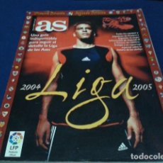 Coleccionismo deportivo: REVISTA EXTRA DIARIO AS GUIA LIGA 2004-2005 - SUPLEMENTO ESPECIAL TEMPORADA FUTBOL 04/05. Lote 186276326