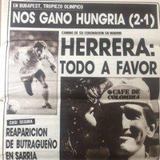 Coleccionismo deportivo: AS 14/5/1987 FINAL RECOPA AJAX 1 – LOKOMOTIV 0 HUNGRIA ESPAÑA. Lote 186288792