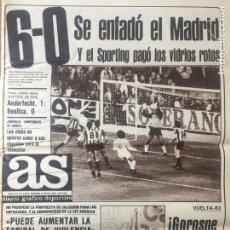 Coleccionismo deportivo: AS 5/5/1983 FINAL UEFA ANDERLECHT BENFICA. Lote 186289030