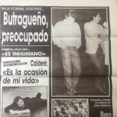 Coleccionismo deportivo: AS 7/5/1987 FINAL COPA UEFA GOTEBORG DUNDEE. Lote 186289236