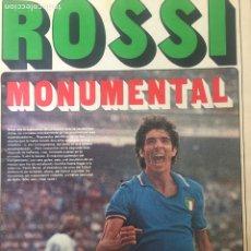Coleccionismo deportivo: AS 13/7/1982 FINAL MUDIAL ESPÑA 82 ITALIA ALEMANIA. Lote 186289746