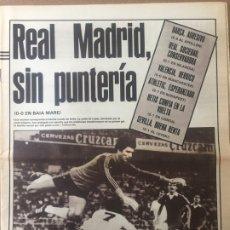 Coleccionismo deportivo: AS 16/9/1982 MANCHESTER VALENCIA CF BILBAO SPARTAK BARCELONA. Lote 186289978