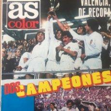 Coleccionismo deportivo: AS Nº 470 FINAL RECOPA VALENCIA ARSENAL CON POSTER VALENCIA. Lote 186291191