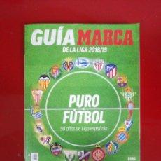 Coleccionismo deportivo: GUÍA MARCA DE LA LIGA 2018/19. Lote 186312532