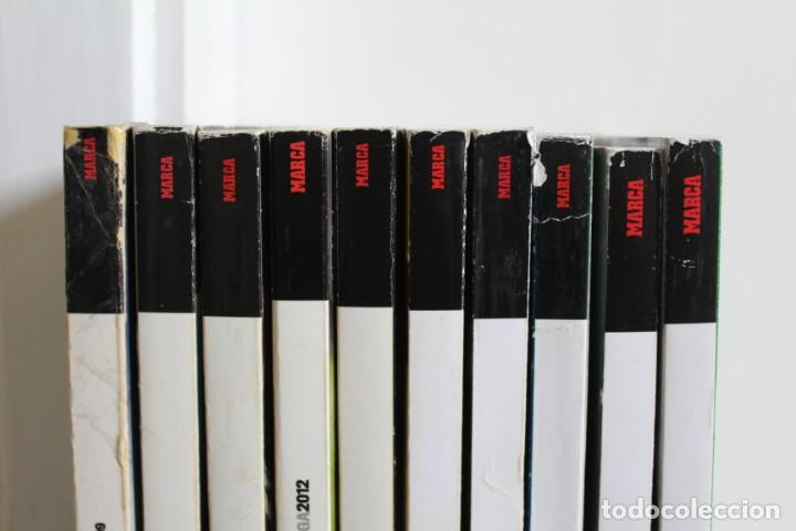 Coleccionismo deportivo: LOTE 8 GUÍA MARCA LA LIGA FÚTBOL. DIARIO MARCA. - Foto 2 - 186326421