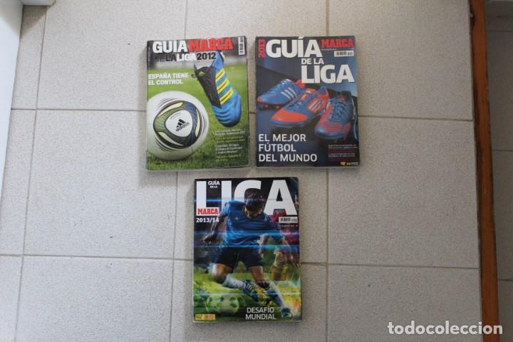 Coleccionismo deportivo: LOTE 8 GUÍA MARCA LA LIGA FÚTBOL. DIARIO MARCA. - Foto 6 - 186326421