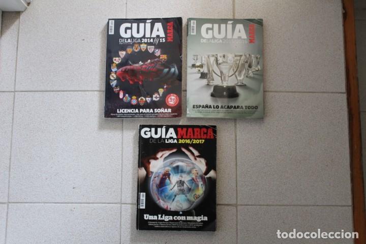 Coleccionismo deportivo: LOTE 8 GUÍA MARCA LA LIGA FÚTBOL. DIARIO MARCA. - Foto 8 - 186326421