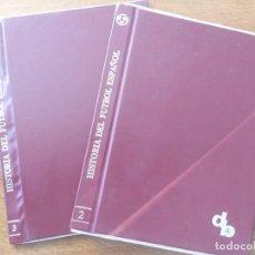 Coleccionismo deportivo: TAPAS ORIGINALES 2 Y 3 DON BALON HISTORIA DEL FUTBOL ESPAÑOL. Lote 186354275