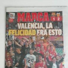 Coleccionismo deportivo: MARCA: VALENCIA CAMPEÓN DE LA COPA DEL REY 2019. Lote 186519626