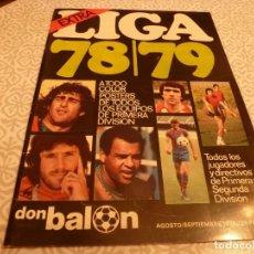 Coleccionismo deportivo: (LLL) DON BALÓN (AGOSTO-SETIEMBRE-1978)EXTRA LIGA 78/79 -VER FOTOS-EXCELENTE ESTADO CONSERVACIÓN. Lote 187215643