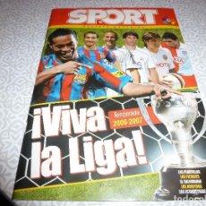 Colecionismo desportivo: (LLL)SPORT EXTRA VIVA LA LIGA-GUIA DEL CAMPEONATO 2006-2007-VER FOTOS. Lote 187219193
