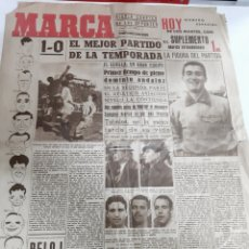 Coleccionismo deportivo: MARCA NÚMERO 65 AÑO II 9 FEBRERO 1943. Lote 187769643