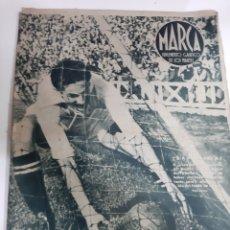 Coleccionismo deportivo: MARCA AÑO II 15 JUNIO 1943 NÚMERO 29 FOTOS VER MILITARES REAL MADRID ECT. Lote 187828001