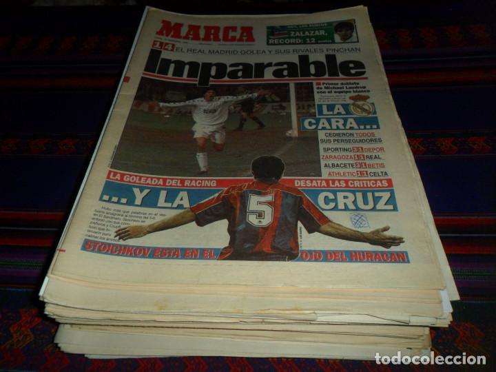 REAL MADRID 28 PERIÓDICOS Y ESPECIALES DE AS Y MARCA CON TÍTULOS Y GRANDES DÍAS. REGALO 15 POSTERS. (Coleccionismo Deportivo - Revistas y Periódicos - As)