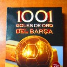 Coleccionismo deportivo: 1001 GOLES DE ORO DEL BARÇA (4 DVD) (EL MUNDO DEPORTIVO). Lote 188421696