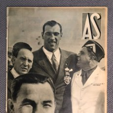 Coleccionismo deportivo: PERIODICO. DIARIO AS, AÑO II, NO.73, LUNES 23 OCTUBRE 1933. UNA JOYA DEPORTIVA !!!!. Lote 188467627