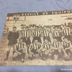 Coleccionismo deportivo: MARCA N 283 (4-5-1948) BARACALDO ATLÉTICO MADRID FC BARCELONA. Lote 188529365