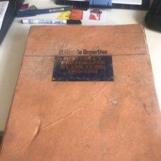 Coleccionismo deportivo: EL MUNDO DEPORTIVO HISTORIA Y PERSONAJES DE LOS JUEGOS JJ.OO. 1896-1984. Lote 188784843