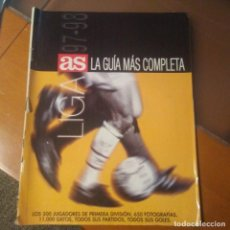 Coleccionismo deportivo: GUIA AS 97/98. Lote 188805902