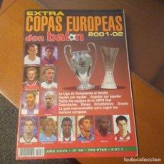 Coleccionismo deportivo: EXTRA DON BALON 2001 2002 N°56. Lote 188806201