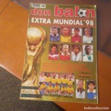 Coleccionismo deportivo: EXTRA DON BALON MUNDIAL 98 N°39. Lote 188806841