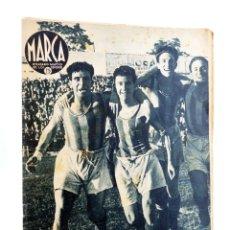 Coleccionismo deportivo: MARCA, SEMANARIO GRÁFICO DE LOS DEPORTES Nº 173. 2 DE JUNIO DE 1942. COPA DEL GENERALÍSIMO: VALLADOL. Lote 189100332