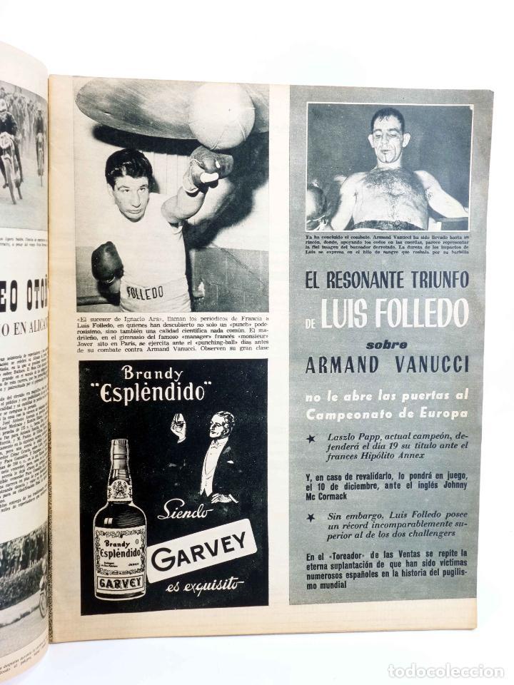 Coleccionismo deportivo: MARCA, SEMANARIO DE LOS DEPORTES Nº 1041. 13 de noviembre de 1962. BOSEO: FOLLEDO (Vvaa) Marca, 1962 - Foto 3 - 189100352