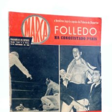 Coleccionismo deportivo: MARCA, SEMANARIO DE LOS DEPORTES Nº 1041. 13 DE NOVIEMBRE DE 1962. BOSEO: FOLLEDO (VVAA) MARCA, 1962. Lote 189100352