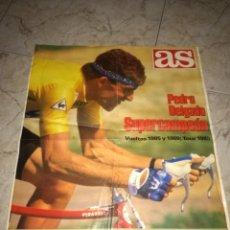 Coleccionismo deportivo: PEDRO DELGADO SUPERCAMPEON.. Lote 189183020