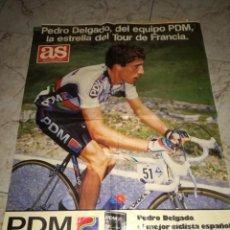Coleccionismo deportivo: PEDRO DELGADO.. Lote 189183037