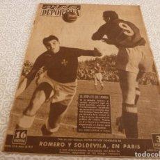 Coleccionismo deportivo: (LLL)VIDA DEPORTIVA Nº:185(22-3-49)LUIS ROMERO,MARIANO CAÑARDO,BARÇA 2 ELFSBORG 3. Lote 189214753
