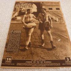 Coleccionismo deportivo: (LLL)VIDA DEPORTIVA Nº:207(23-8-49)LUIS ROMERO,EL GIRONA,R.MADRID PRIMEROS ENTRENOS. Lote 189214881