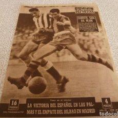 Coleccionismo deportivo: (LLL)VIDA DEPORTIVA Nº:691(15-12-58) BARÇA 5 AT.MADRID 0,PAZOS,ANDRES JIMENO(TENIS). Lote 189254548