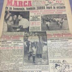 Coleccionismo deportivo: 30-4-1964 ZARRA HOMENAJE. Lote 189320233