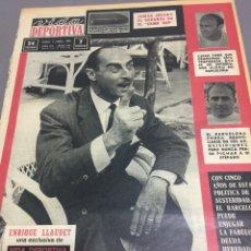 Coleccionismo deportivo: 5-9-1964 ENRIQUE LLAUDET HOMENAJE SEGARRA FC BARCELONA. Lote 189322643