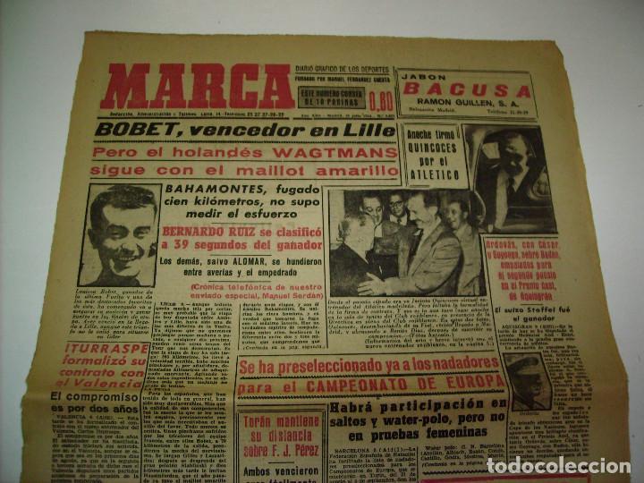 29 PORTADAS DIARIO MARCA AÑOS 1954 Y 1955 (Coleccionismo Deportivo - Revistas y Periódicos - Marca)