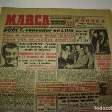 Coleccionismo deportivo: 29 PORTADAS DIARIO MARCA AÑOS 1954 Y 1955. Lote 189396445