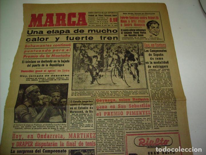 Coleccionismo deportivo: 29 PORTADAS DIARIO MARCA AÑOS 1954 Y 1955 - Foto 13 - 189396445