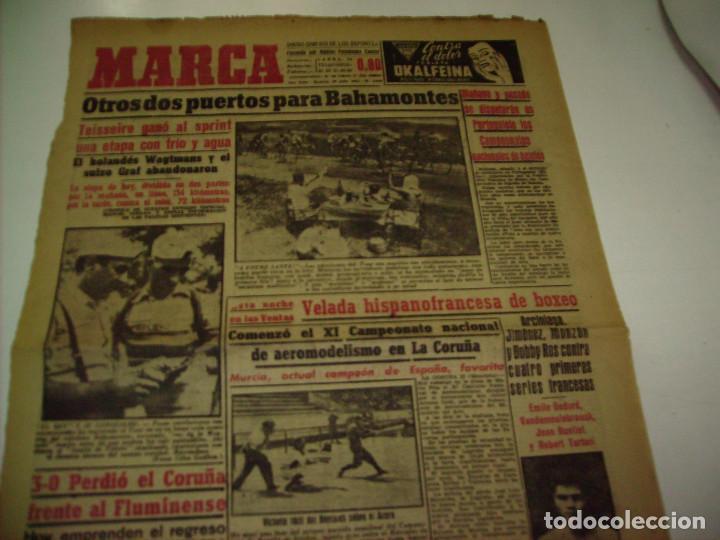 Coleccionismo deportivo: 29 PORTADAS DIARIO MARCA AÑOS 1954 Y 1955 - Foto 16 - 189396445