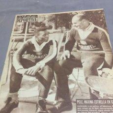 Coleccionismo deportivo: 11-6-1962 MUNDIAL CHILE 62 PELE. Lote 189463933