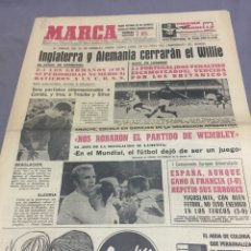 Coleccionismo deportivo: 2€-7-1966 INGLATERRA PORTUGAL ALEMANIA URSS SEMIFINALES. Lote 189483581