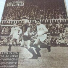 Coleccionismo deportivo: 31-1-1955 BOLONIA BARCELONA ESPAÑOL REAL SOCIEDAD SEVILLA. Lote 189496653