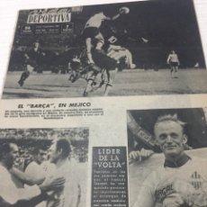 Coleccionismo deportivo: 9-9-1963 KUBALA RCD ESPAÑOL BARCELONA UNIVERSIDAD MÉXICO. Lote 189497170
