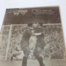 Coleccionismo deportivo: 30-10-1961 BARCELONA ESPAÑOL REAL MADRID BETIS. Lote 189504995