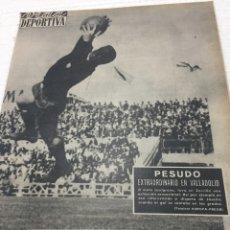 Coleccionismo deportivo: 27-5-1963 ESPAÑOL MALLORCA ASCENSO TOTTENHAM RECOPA MILÁN. Lote 189506338