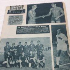 Coleccionismo deportivo: 26-&-1963 DI STEFANO SECUESTRO BILBAO 50 ANIVERSARIO. Lote 189506586
